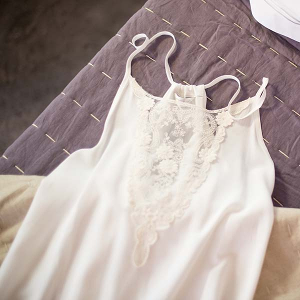 Cream Nighties