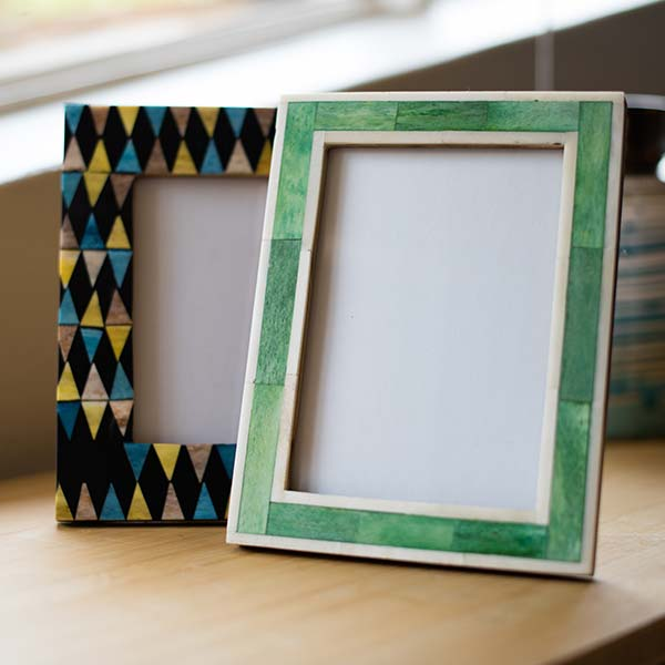 Patterned Frames